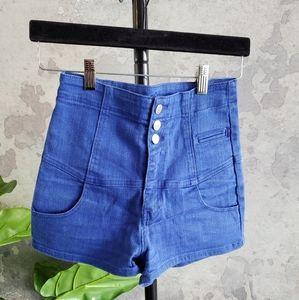 Dotti High Waist Jean Shorts